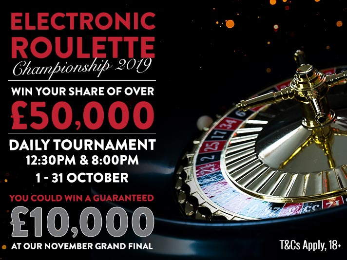 Electronic Championship Roulette